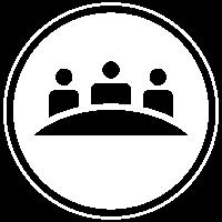 upcoming meetings white icon
