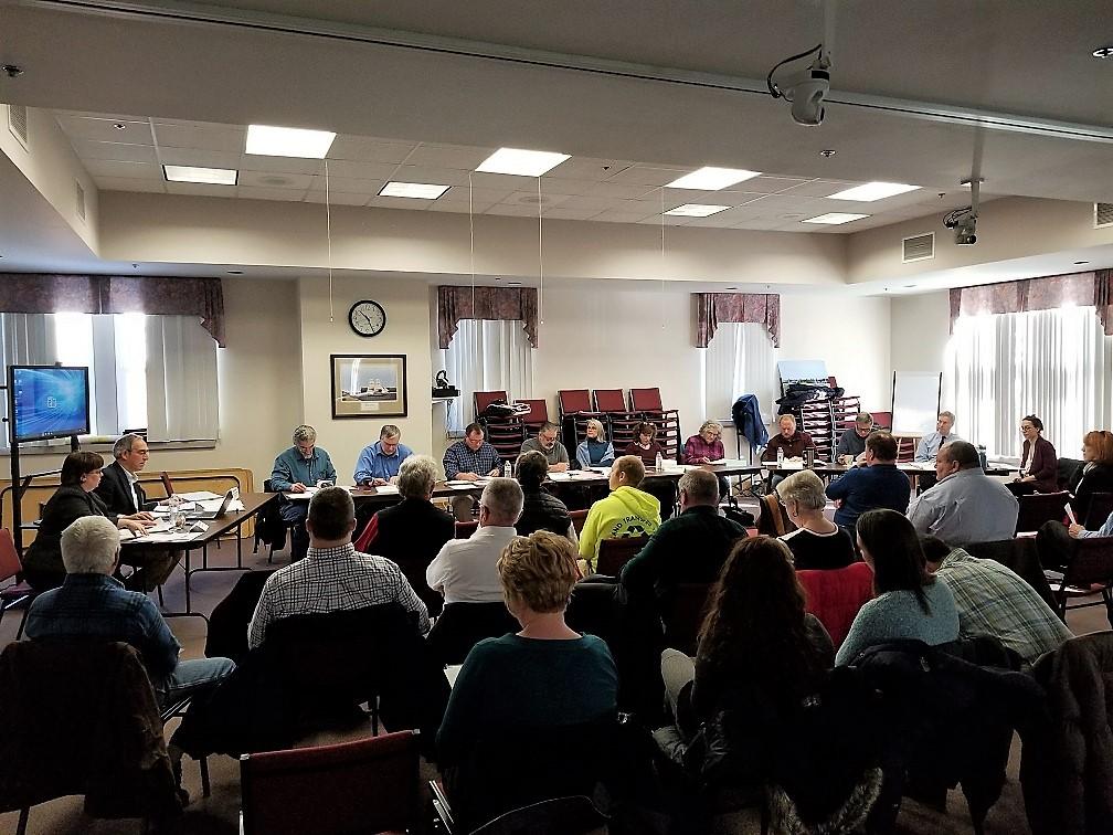 photo of mrc board meeting
